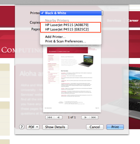 remove nearby printers as an option in os x jamauai s sysadmin blog