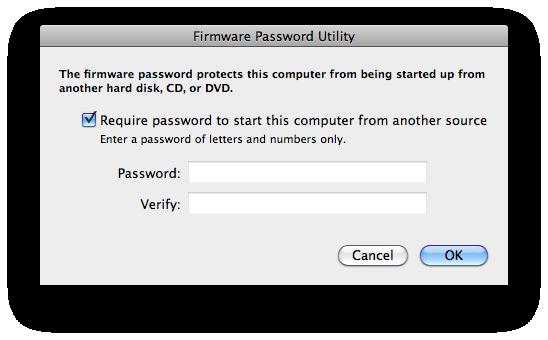 Reveal Mac OS X Firmware Password | jamauai's Sysadmin Blog